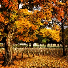 Photo taken at Stones River National Cemetery by James C. on 10/26/2012