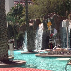 Photo taken at Flamingo GO Pool by Laurie B. on 3/24/2013