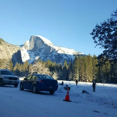 Photo taken at Lower Yosemite Falls by Brito D. on 12/26/2015