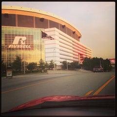 Photo taken at Georgia Dome by Joe #. on 7/13/2013