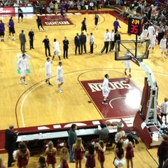 Photo taken at TD Arena, College of Charleston by Cara M. on 1/5/2013