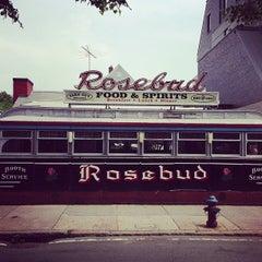 Photo taken at Rosebud Diner by Germán V. on 6/22/2013