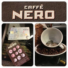 Photo taken at Caffè Nero by Serkan A. on 4/19/2013