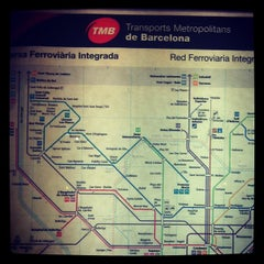 Photo taken at METRO Catalunya by SolFlavia .. on 5/8/2013