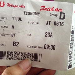 Photo taken at Gate B2 by Alfa Monica A. on 7/11/2014