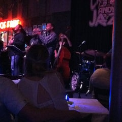 Photo taken at Andy's Jazz Club by Maria P. on 7/23/2013