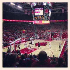 Photo taken at Bud Walton Arena by Lawson H. on 12/21/2012