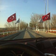 Photo taken at Greece Kipoi Border Station (Tελωνείο Kήπων) by ! on 12/14/2012