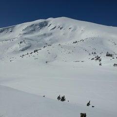 Photo taken at вр. Безбог, 2645м / Bezbog peak, 8677ft by Eva T. on 3/3/2013