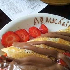 Photo taken at Fábrica Chocolate Araucária by Diego Q. on 3/24/2013