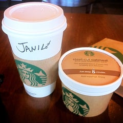 Photo taken at Starbucks by Jan S. on 4/18/2013