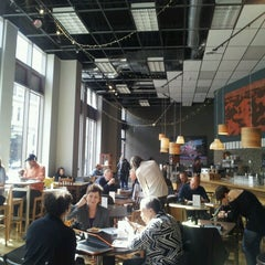 Photo taken at Awaken Cafe by EastBayLoop K. on 2/27/2013