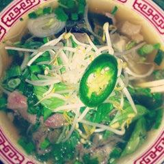 Photo taken at Pho Hoa by Tonya S. on 3/17/2013