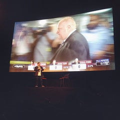Photo taken at The Bloor Hot Docs Cinema by Alessia B. on 10/27/2014