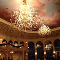 Photo taken at Be Our Guest Restaurant by Matt C. on 4/6/2013
