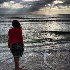Photo taken at Siesta Key Beach by Jerry J. on 1/7/2013