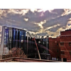 Photo taken at Planetary Hall - George Mason University by Jerry J. on 3/21/2013