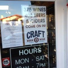 Photo taken at CRAFT Beer & Wine by WreSalene on 10/12/2014