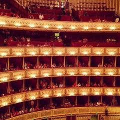 Photo taken at Wiener Staatsoper by Andrey P. on 6/20/2013