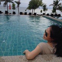 Photo taken at Salad Buri Resort by my s. on 11/16/2014