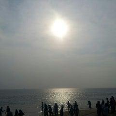 Photo taken at Kollam Beach by Galib on 12/25/2012