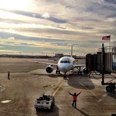 Photo taken at Gate A17 by Jeremy M. on 11/1/2012