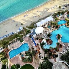 Photo taken at Trump International Beach Resort by Jeremy M. on 2/3/2013