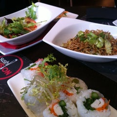 Photo taken at Sushi Fusion by Victor J. on 10/25/2012