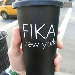Photo taken at FIKA Espresso Bar by Ryan Z. on 3/27/2013