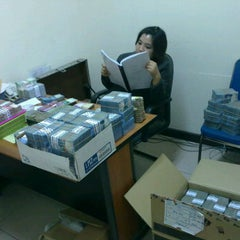 Photo taken at Bank BTN by inka k. on 11/15/2011