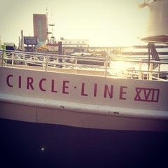 Photo taken at Circle Line Sightseeing Cruises by Hugo B. on 12/15/2012