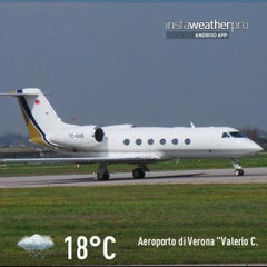 "Photo taken at Aeroporto di Verona ""Valerio Catullo"" (VRN) by Gianluca R. on 4/13/2013"