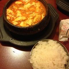 Photo taken at Dolsot House | K-Town BBQ Korean Restaurant by Wendy K. on 5/11/2013