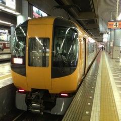Photo taken at 大阪上本町駅 (Osaka-Uehommachi Sta.) by YZA on 5/28/2013