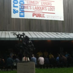 Photo taken at Delacorte Theater by Sarah J. on 6/15/2013