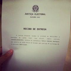 Photo taken at Tribunal Regional Eleitoral do Rio Grande do Sul (TRE/RS) by Murilo P. on 11/6/2012