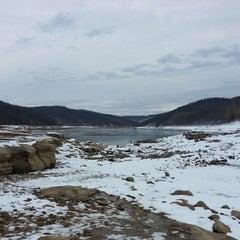 Photo taken at Tygart Lake State Park by Brian P. on 1/5/2014