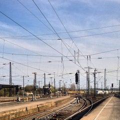 Photo taken at Bahnhof Hamm (Westfalen) by Markus B. on 4/20/2013
