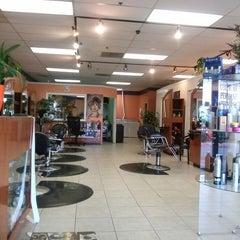 Photo taken at Elite Hair Salon by Daman B. on 7/17/2013