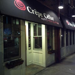 Photo taken at Crêpe Cellar Kitchen & Pub by Bill M. on 2/24/2013