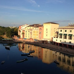 Photo taken at Loews Portofino Bay Hotel at Universal Orlando by Brian K. on 10/10/2012