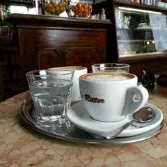 Photo taken at Café Ritter by John R. on 2/15/2013