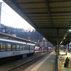 Photo taken at Bellinzona FFS by Gianluca M. on 1/2/2013