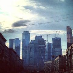 Photo taken at Большая Дорогомиловская улица by Kristina C. on 9/7/2013