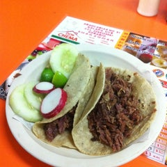 Photo taken at Tacos Don Chema by Rafa A. on 2/13/2013