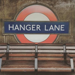 Photo taken at Hanger Lane London Underground Station by Thomas H. on 5/6/2016
