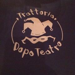 Photo taken at Trattoria Dopo Teatro by Ashley G. on 1/3/2014