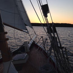 Photo taken at Schooner Landing by Jill V. on 9/18/2014