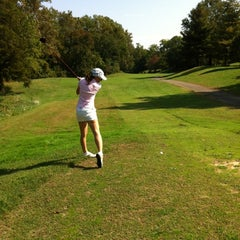 Photo taken at Pinecrest Golf Course by EmmeGirls M. on 10/6/2012