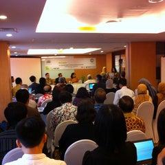 Photo taken at Ibis Hotels by Wafirul A. on 11/29/2014